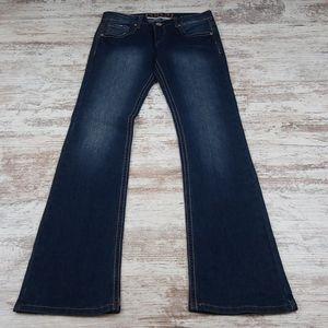 Rue21 Faded Denim Slim Boot Cut Style Jeans NWT